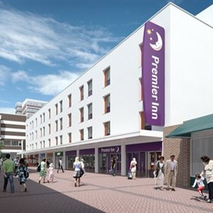 Planning Approved for Premier Inn at The Walnuts.