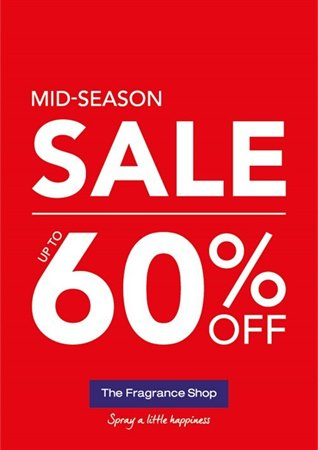 The Fragrance Shop Mid-Season Sale